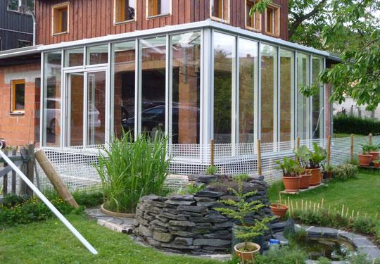 wintergarten bausatz aluminium