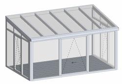 wintergarten formen als 3d zeichnungen 123 wintergarten. Black Bedroom Furniture Sets. Home Design Ideas